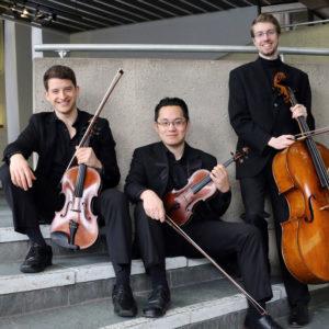 Cecilia Concerts   Halifax, Nova Scotia   Daedalus Trio   Mark Lee, Violin; Kerry Kavalo, Viola; and Benjamin Marmen, Cello
