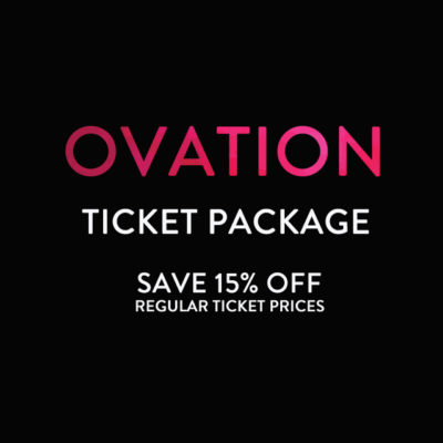 Cecilia Concerts | Halifax, Nova Scotia | Ovation Ticket Package