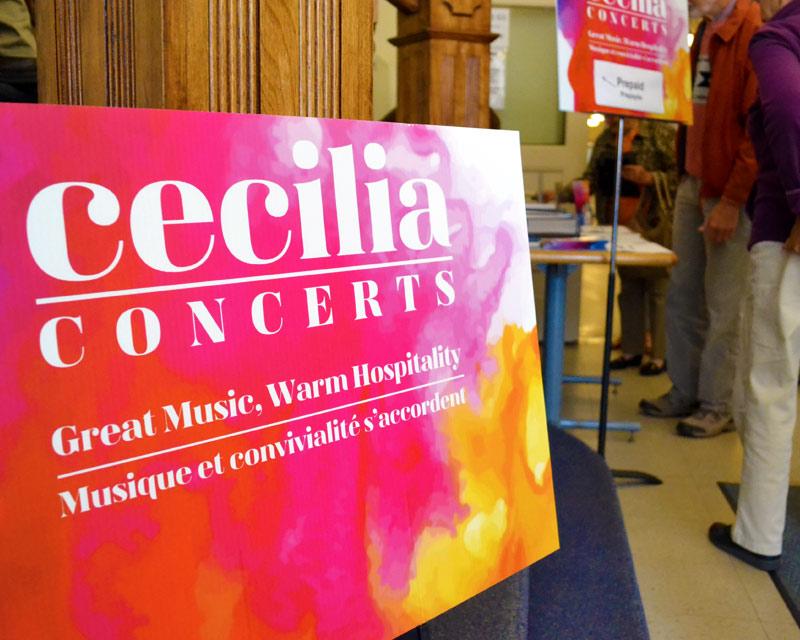Cecilia Concerts | Halifax, Nova Scotia | Classical Music | Volunteer