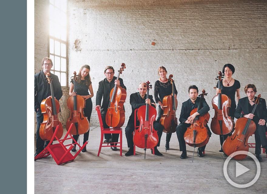 Cecilia Concerts | Classical Music | Halifax, Nova Scotia | Ô-Celli Belgian Cello Octet