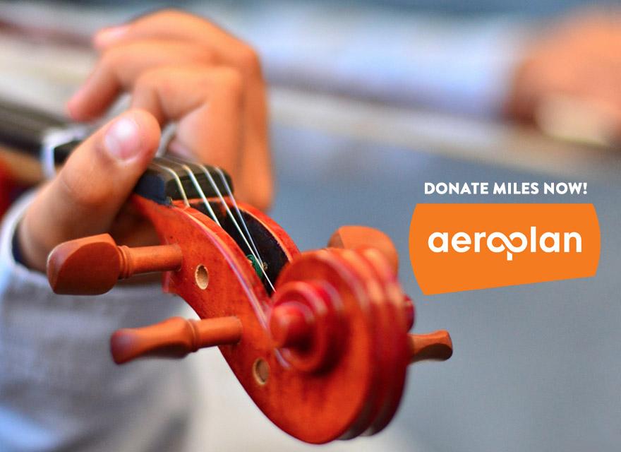 Cecilia Concerts | Classical Music | Halifax, Nova Scotia | Donate Aeroplan Miles Now