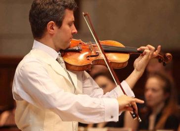 Cecilia Concerts | Classical Music | Halifax, Nova Scotia | Violinist Emmanuel Vukovich