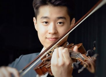 Cecilia Concerts | Classical Music | Halifax, Nova Scotia | Violinist Heemin Choi