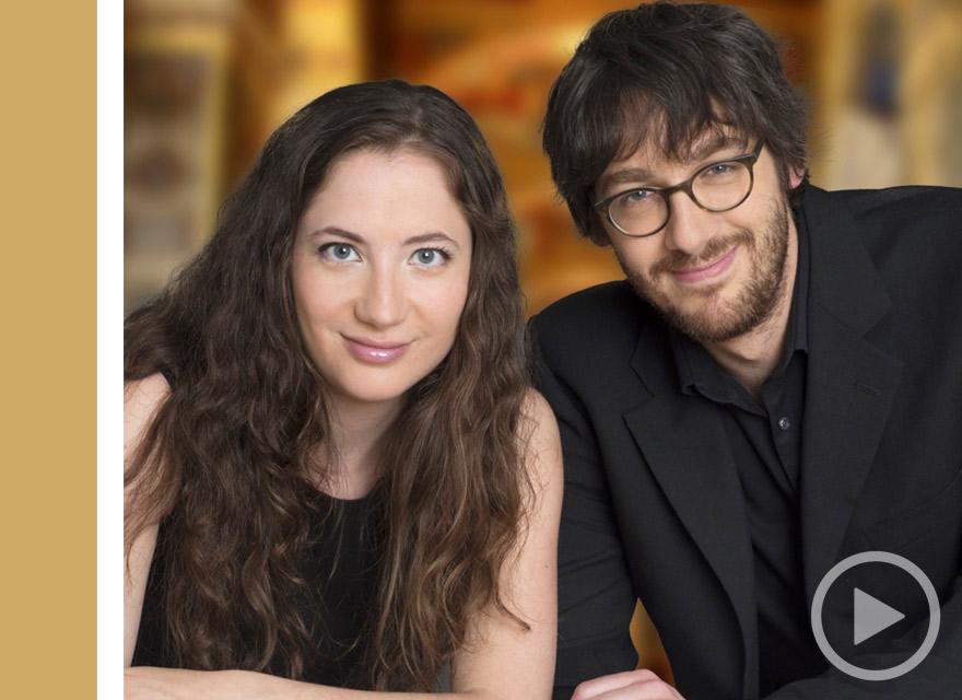 Cecilia Concerts | Classical Music | Halifax, Nova Scotia | Jeanne Amiele & Simon Lariviere | Red Piano